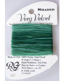 Very Velvet Shaded - Pine Green