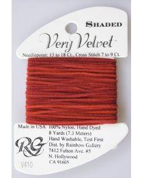Very Velvet Shaded - Burgundy