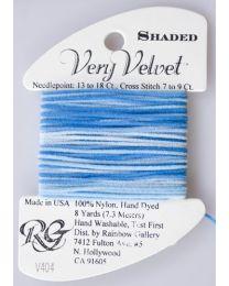 Very Velvet Shaded - Sky Blue
