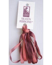 Silken Ribbons 7mm Frosted Aubu