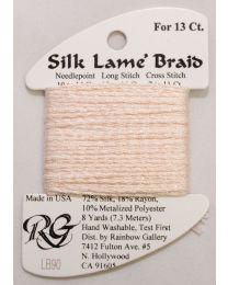 Silk Lame Braid 13 Barely Pink