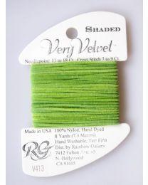 Very Velvet Shaded - Apple Gree