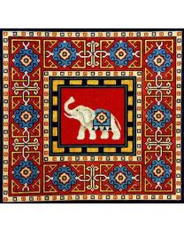 Elephant on Persian Rug