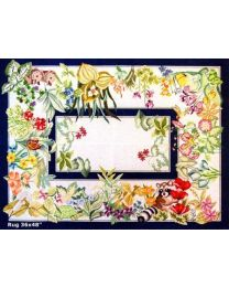 Animals & Flowers Rug