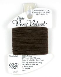 Petite Very Velvet - Dark Brown