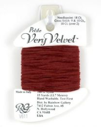 Petite Very Velvet - Brick Red