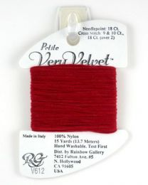 Petite Very Velvet - Cherry Red