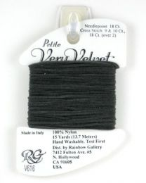 Petite Very Velvet - Dark gray