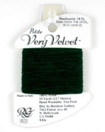 Petite Very Velvet - Dark Green