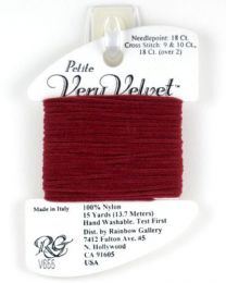 Petite Very Velvet - Dark Red