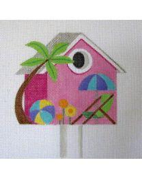 Beach Birdhouse August