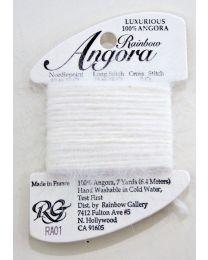Angora - White