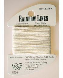 Rainbow Linen - Ecru