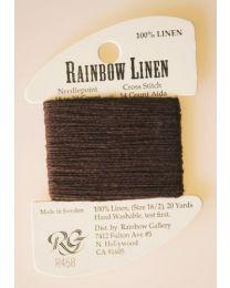 Rainbow Linen - Dark Brown