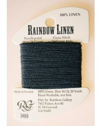 Rainbow Linen - Charcoal Gray
