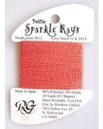 Petite Sparkle Rays - Dk Peach