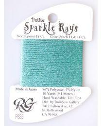 Petite Sparkle Rays - Aqua