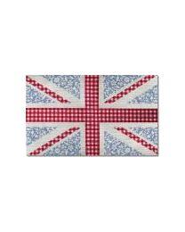 Floral Union Jack Heart