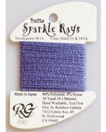 Petite Sparkle Rays - Dk Lavend