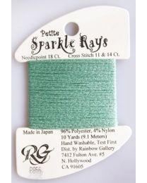 Petite Sparkle Rays - Lite Aqua