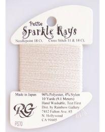 Petite Sparkle Rays - Ecru