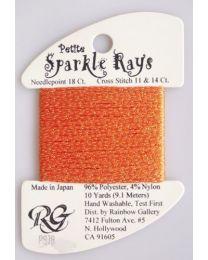 Petite Sparkle Rays - D Pumpkin