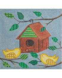 Bird & Birdhouse 2530