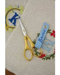 Flowers and pearls scissors