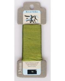 River Silks 13mm color 078