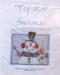 Just Libby -- Top Hat Snowman