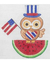 4th of July Owl SS237