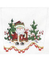 Santa in Snow CSC56 13m