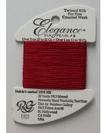 Elegance - Dark Red