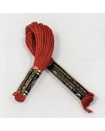 Embroidery floss - Alizarin