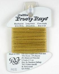 Petite Frosty Rays - Black Gold
