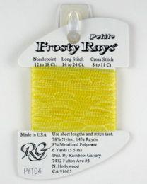 Petite Frosty Rays - Golden Yel
