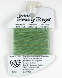 Petite Frosty Rays - Lite Green