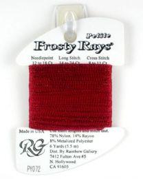 Petite Frosty Rays - Dark Red