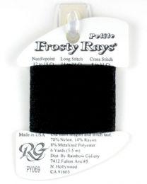 Petite Frosty Rays - Black Glos