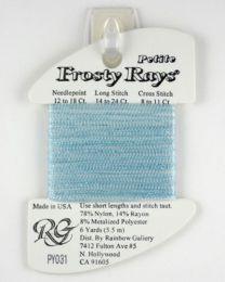 Petite Frosty Rays - Lite Blue