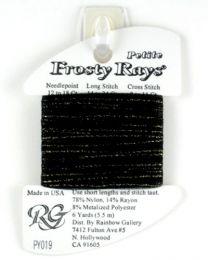 Petite Frosty Rays - Black Spar