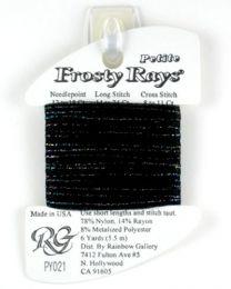Petite Frosty Rays - Black Mult