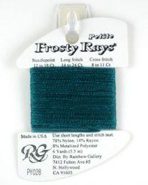 Petite Frosty Rays - Dark Aqua