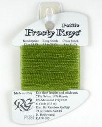 Petite Frosty Rays - Lite Olive