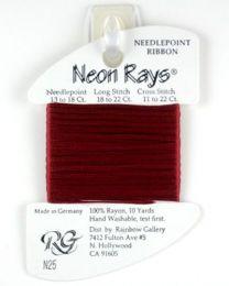 Neon Rays - Brick Red