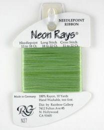 Neon Rays - Celery