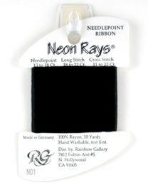 Neon Rays - Black
